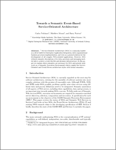 Research paper on service oriented architecture pdf