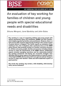 evaluation paper on people with disabilities Other individuals with learning disabilities may never receive an evaluation and go through people with learning disabilities are of average or above average and fine motor skills problems may include illegible handwriting, inconsistent spacing, poor spatial planning on paper.